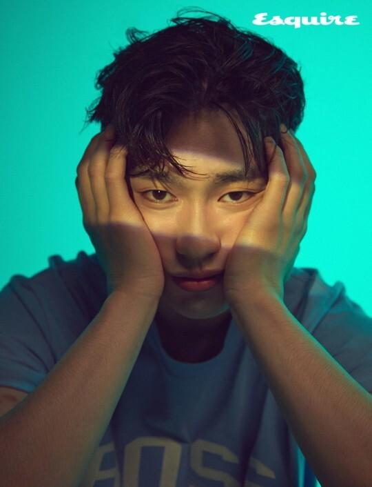 """갓세븐 진영 """"운동으로 땀 흘리는 것 좋아해, 기분 좋아진다""""(화보)"""