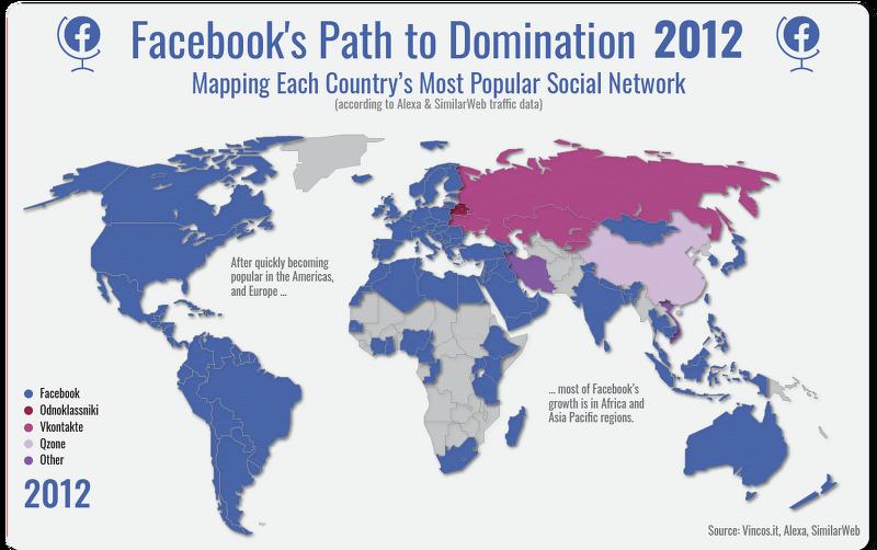 페이스북의 글로벌 소셜 네트워크 지배로의 길(2008~2020년)