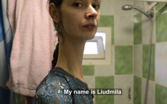 키 202cm, 목길이 18cm 우크라 여성