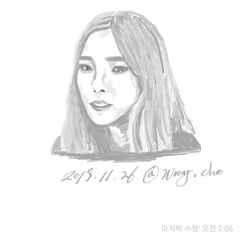 19.11.26. 헤이즈 heize 팬아트 fan art