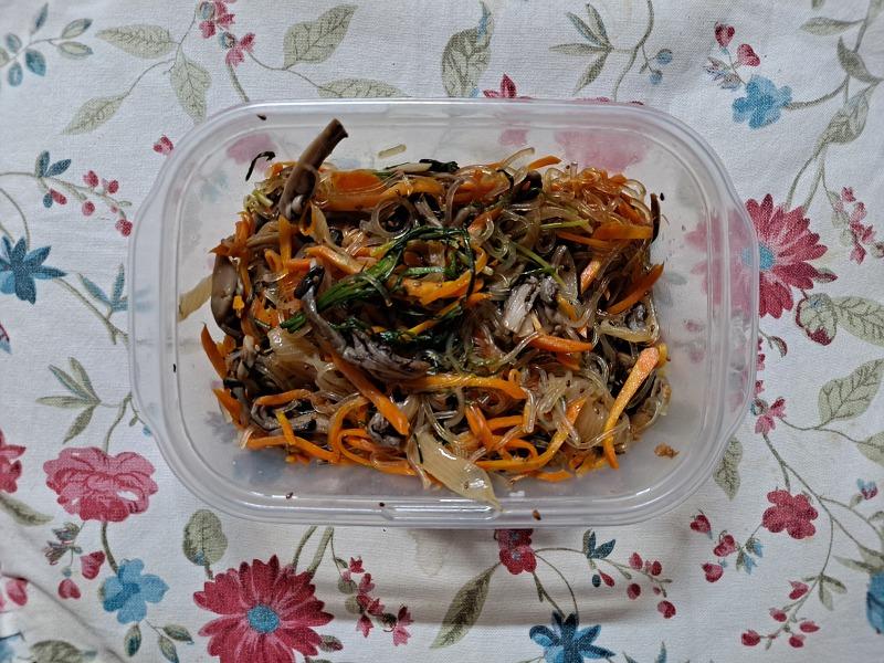 정성으로 버무린 별식, 잡채(Stir-fried Glass Noodles and Vegetables)