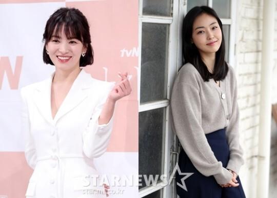 송혜교, 전소니와 10살 뛰어넘은 우정