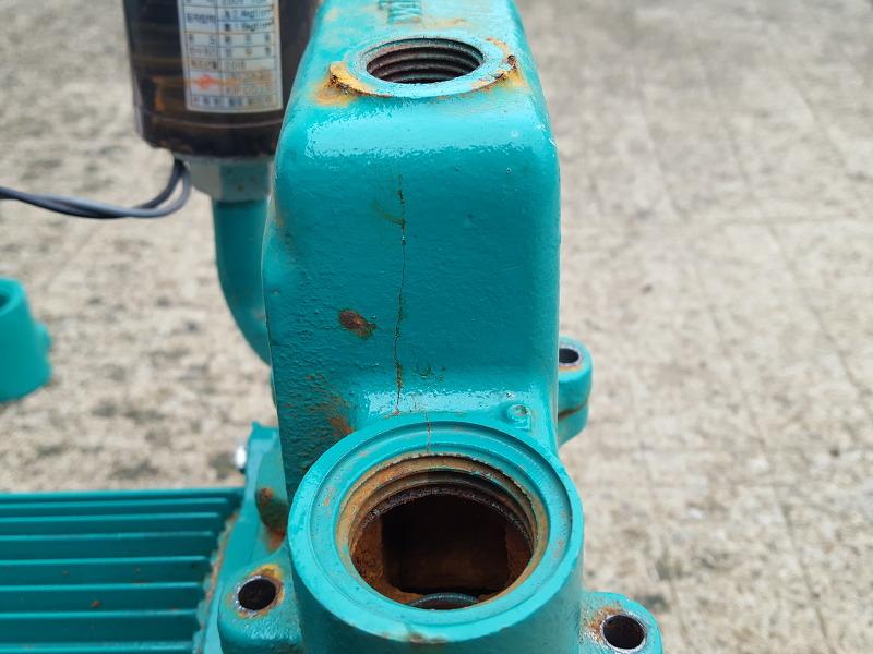동파된 자동펌프 수리