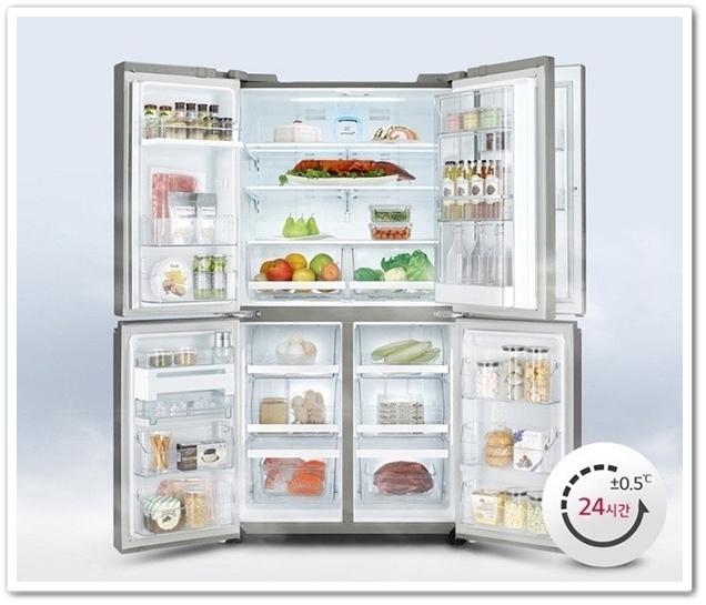 LG DIOS 매직스페이스 V8700 냉장고