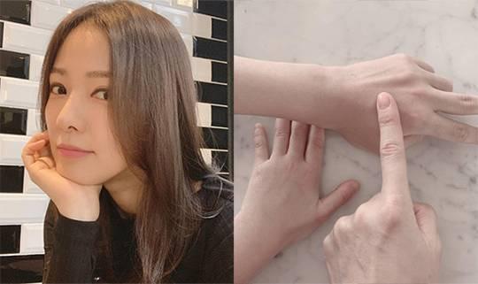손태영 자가격리 근황 '집돌이·집순이 2일차'