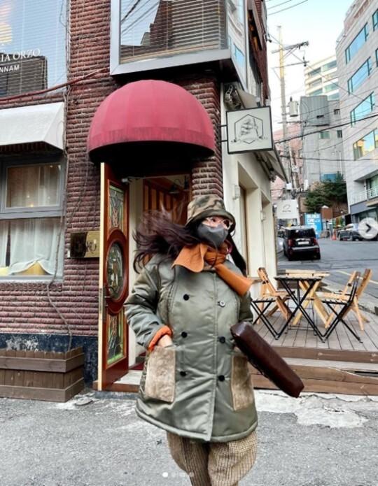 이혜영, '51세' 중 제일 힙해…감히 시도조차 어려운 패션