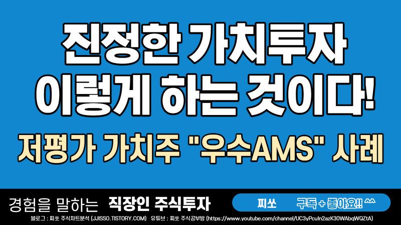 저평가 가치주/성장주 - 우수AMS