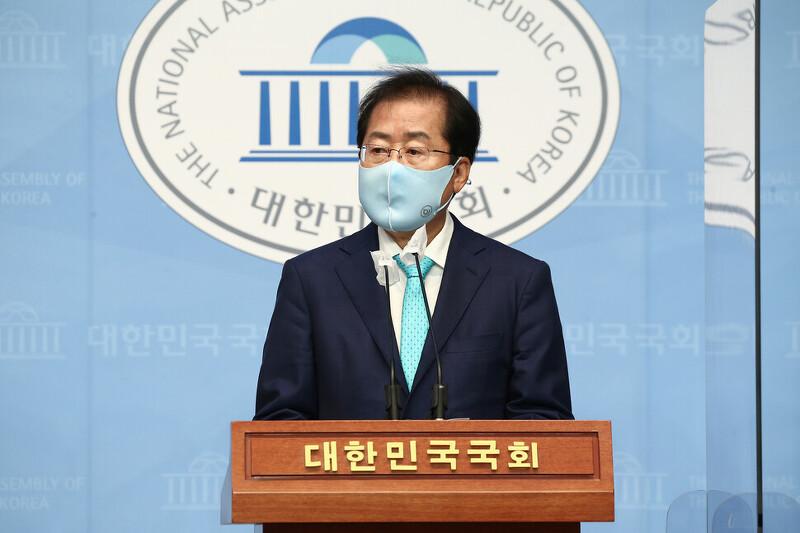 홍준표 국민의힘 복당, 대선 출마 하나? (+ 윤석열과 야권 대선 경쟁? )