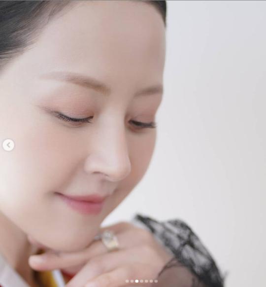 '60세 최고 미녀' 서정희, 한복맵시 뽐내는 곱디고운 미모
