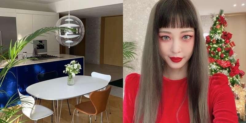 한예슬 '조명 180만원+의자 70만원' 럭셔리 초고가 인테리어 자택 공개