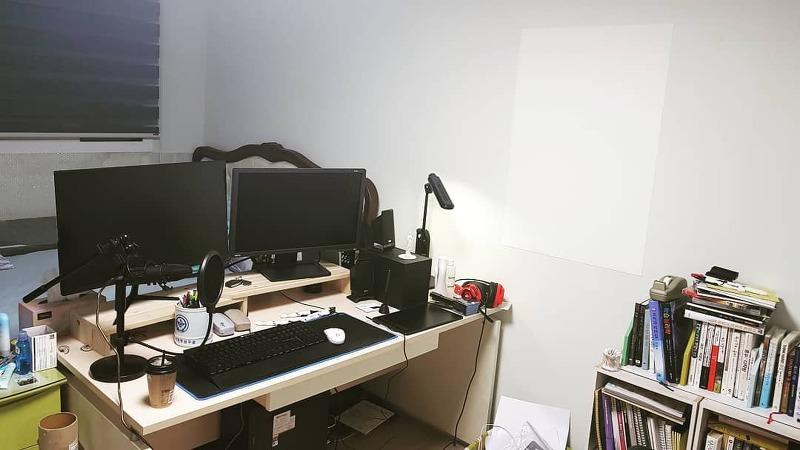 작업실 work place in my room