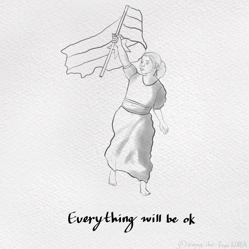 2021.03.18  pray for Myanmar kyalsin from Korea