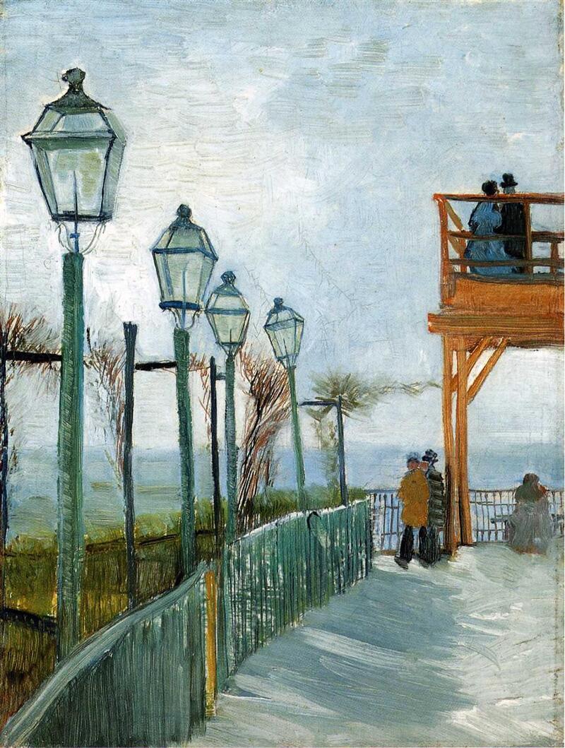 빈센트 반 고흐 삶과 작품 - 파리 시절 - 003, 빛을 담은 영혼의 화가 Vincent van Gogh / 불여우아빠 진성준의 맛깔나는명화감상
