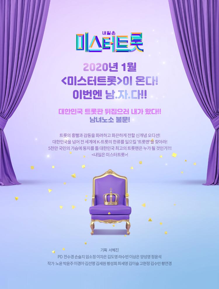 미스터트롯 첫방송 참가자 소개 시청률 14.2