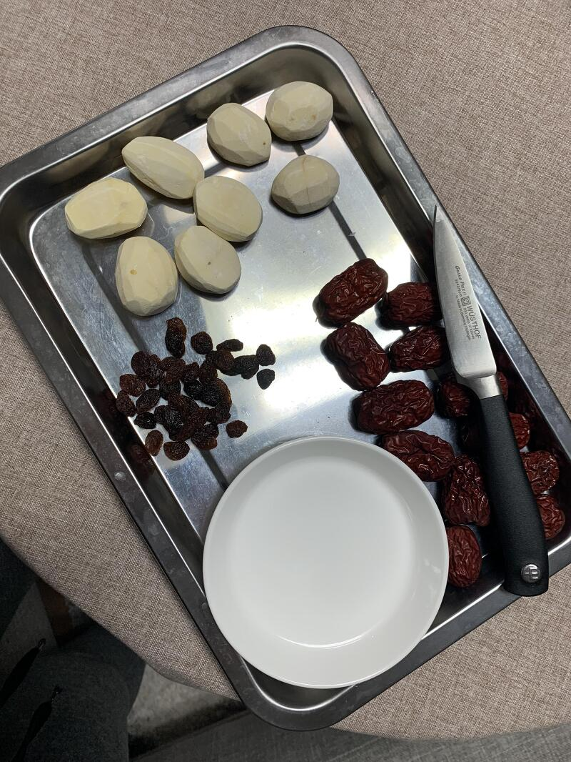 전기밥솥으로 약밥 만드는 법
