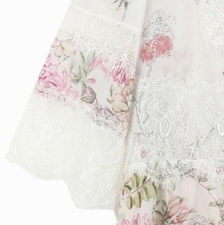 썰스데이아일랜드 플라워 패턴 맥시 드레스(T184MBC238W) 알뜰하게 싸게 사기