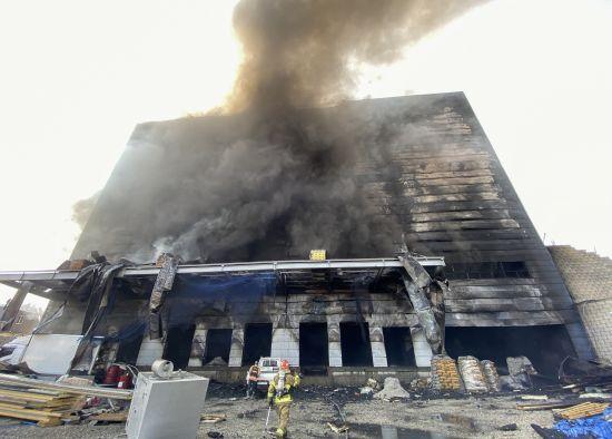 이천 물류창고 화재 사고 38명 사망 10명 부상