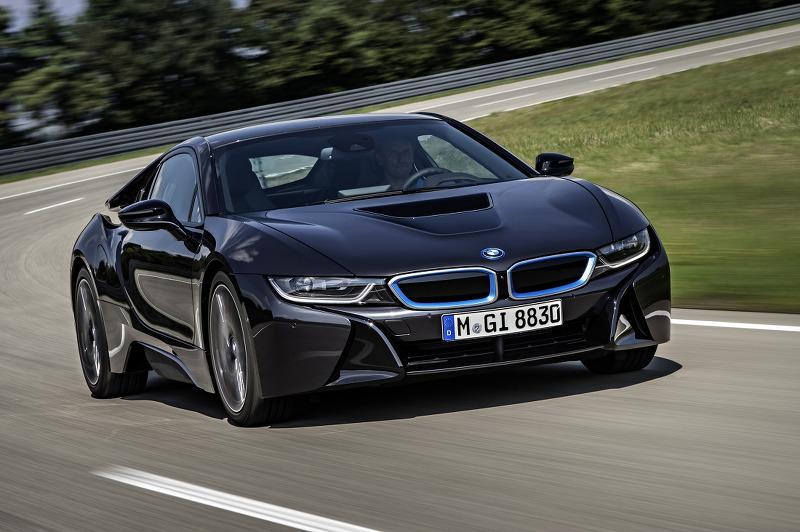 2014 BMW i8 양산형 대용량 사진들 - 2013 프랑크푸르트 모터쇼