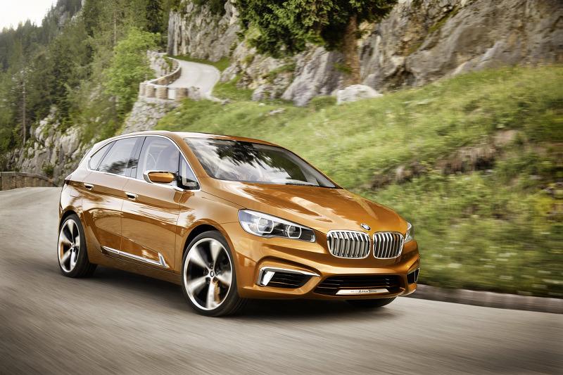 2013 BMW 컨셉 액티브 투어러 아웃도어 사진 대방출