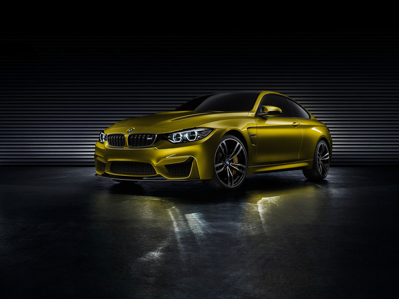 2013 BMW 컨셉 M4 쿠페 사진 원본들