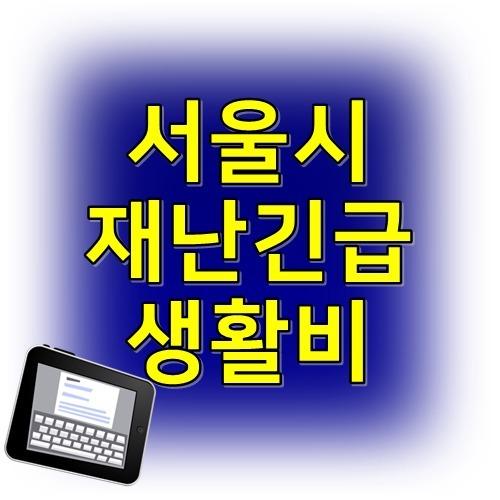 서울시 재난긴급생활비 자영업자 프리랜서 지급기준
