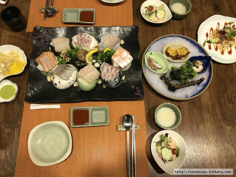 수원 경희대(영통역) 맛집::영통 해신 무한리필 모듬회