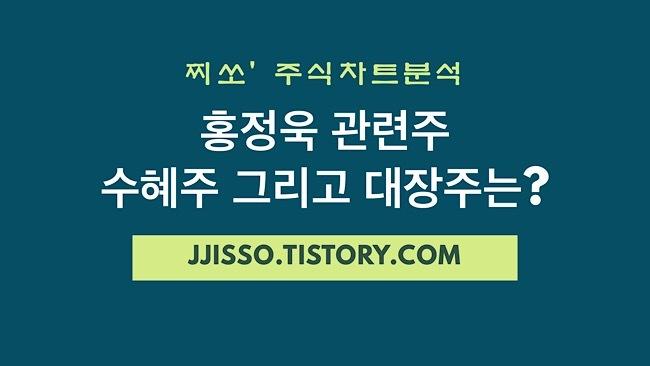 홍정욱 관련주 - 수혜주 및 대장주는 무엇?