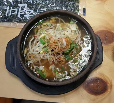 신림역 24시간 식당 / 콩나물국밥 전주현대옥