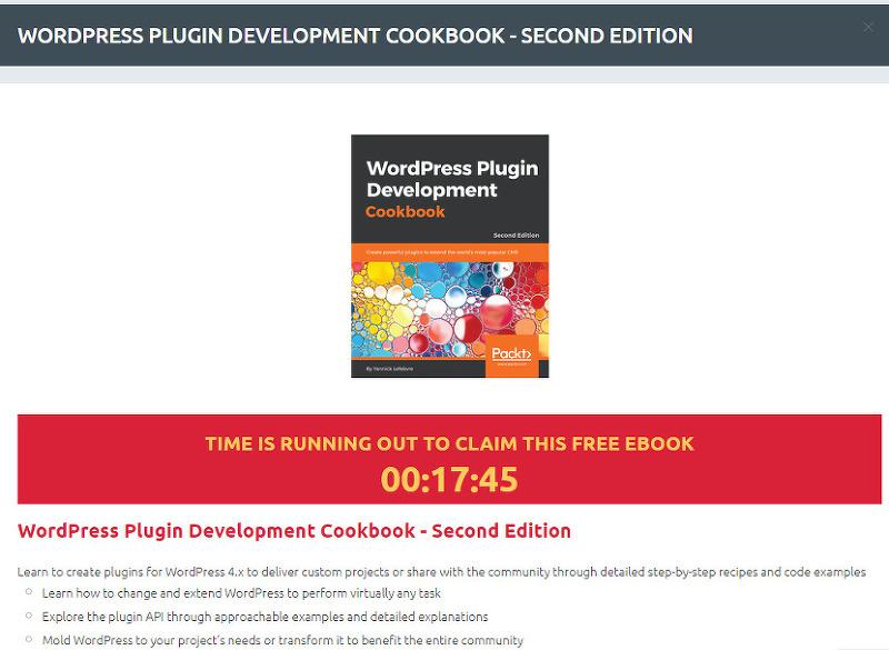 워드프레스 플러그인 개발 전자책 득템