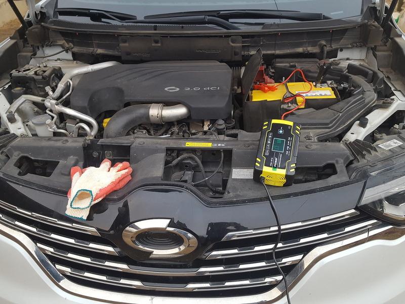 자동차 배터리 충전