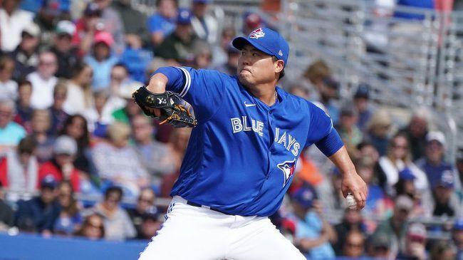 미국 메이저리그(MLB) 아메리칸 리그 동부 지구 토론토 블루제이스로 이적후 고전을 면치 못하고 있는 류현진과 일본 다르빗슈 유 다나카 마사히로 비교