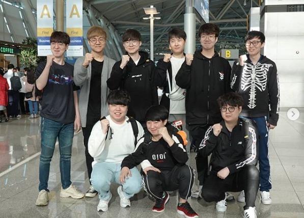MSI 한국팀 대표 SKT T1 출국, MSI 역대 우승팀