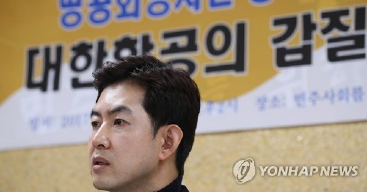 """'땅콩회항' 박창진, 대한항공에 소송..""""일반승무원으로 강등""""(종합)"""