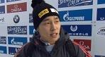 스켈레톤 윤성빈, 亞 최초 금메달..세계정상 정복