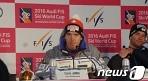 [테스트이벤트] 얀카, FIS 월드컵 슈퍼대회전 우승