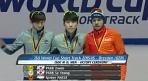 쇼트트랙 박지원, 월드컵 1500m 1위..개인 종목 첫 金