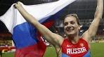 IAAF, 이신바예바 등 출전 금지 러시아 선수 공개