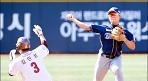 '강민국 3점포' NC, kt와 첫 평가전서 대승