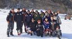 알파인 스키 스피드팀, 미국 대표팀과 합동 훈련 실시