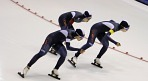 한국 팀추월 5위..스피드스케이팅 종별세계선수권