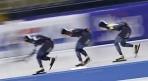 [세계빙속] 한국, 남자 팀추월 5위..메달 실패