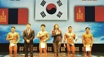 대한민국 보디빌딩, 중앙아시아 대회 종합 2위