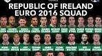 '로비 킨-존 오셔 승선' 아일랜드, 유로 2016 명단