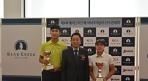 오승택, 박민지, 베어크리크 골프대회 남녀부 우승