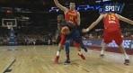 '드림팀' 미국 농구 대표팀, 중국 49점차 대파