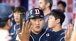 두산 오재일, 박주현 상대 시즌 11호 홈런