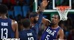 '듀런트 30점' 미국, 세르비아 대파..올림픽 3연패