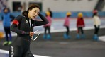 이상화, 여자 500m서 38초57..'가볍게 우승'