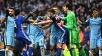 英 FA, 맨시티-첼시 충돌 조사..징계+벌금 예상
