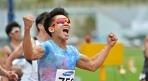 김국영, 100m 10초07..이틀 만에 또 한국新 기염